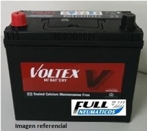Batería Voltex NS60L  NX100-S6L  55B24L Borne Delgado