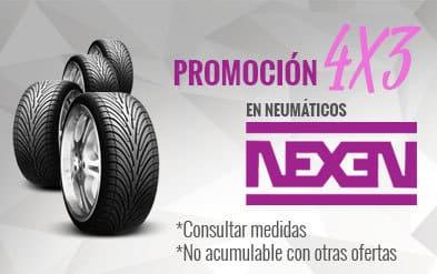 4x3 en todos los Neumáticos