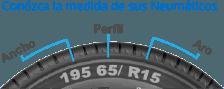 Medidas Neumático