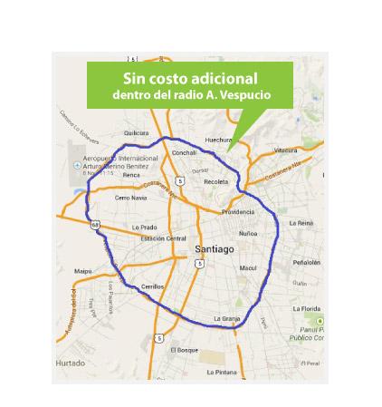 mapa rm
