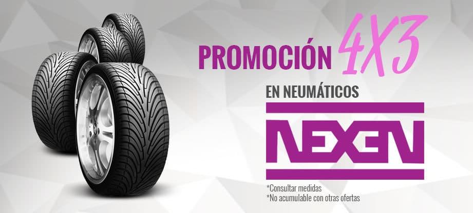 Neumáticos promoción 4x3 nexen